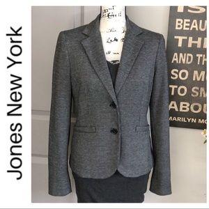 💕Jones New York Grey Textured Blazer💕